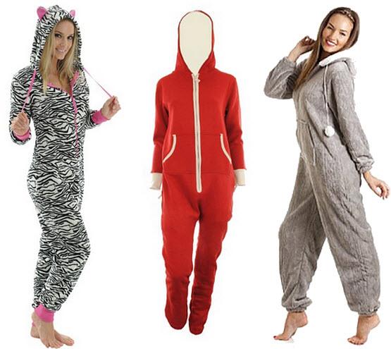 womens-fleece-hooded-jumpsuit-onesie-pajamas