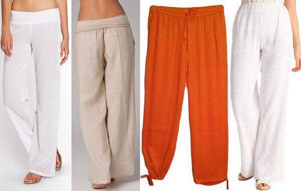 womens-gauze-pants