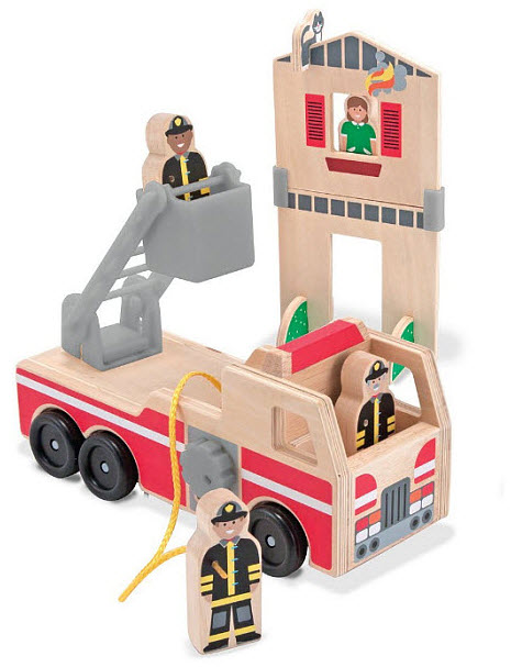 wooden-toy-fire-truck