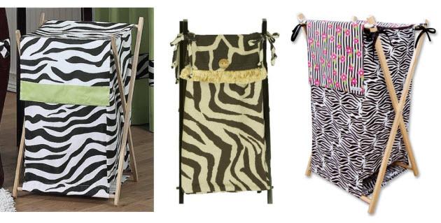 Zebra-hamper