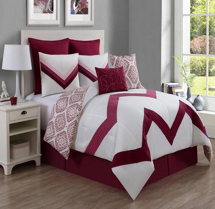 Zig-zag Comforters