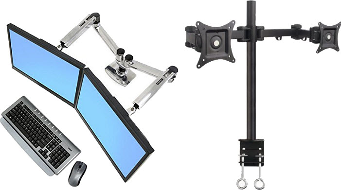 dual-monitor-arm-desk-mount