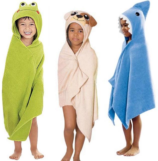 kids-hooded-beach-towels