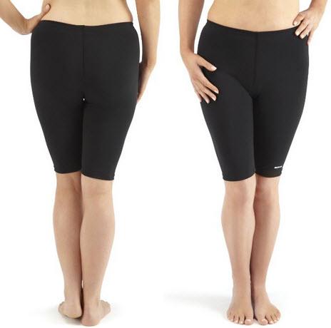 ladies-black-swim-shorts