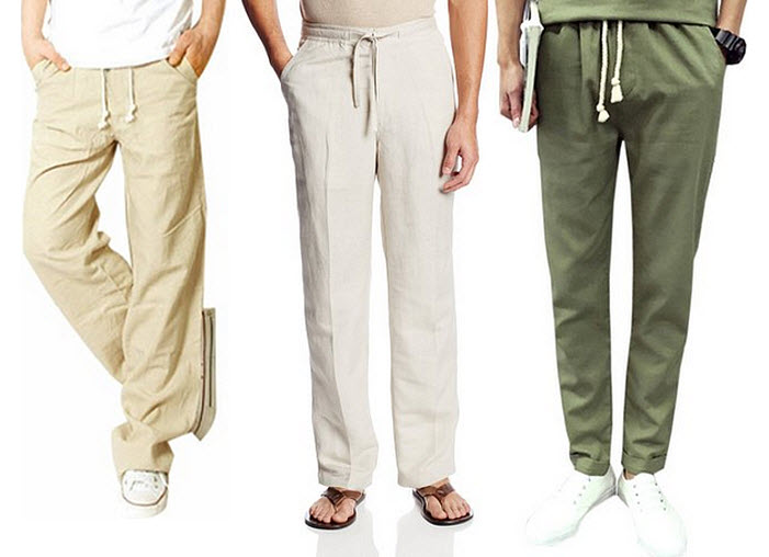 mens-drawstring-beach-pants