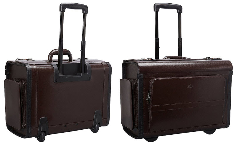 rolling legal briefcases