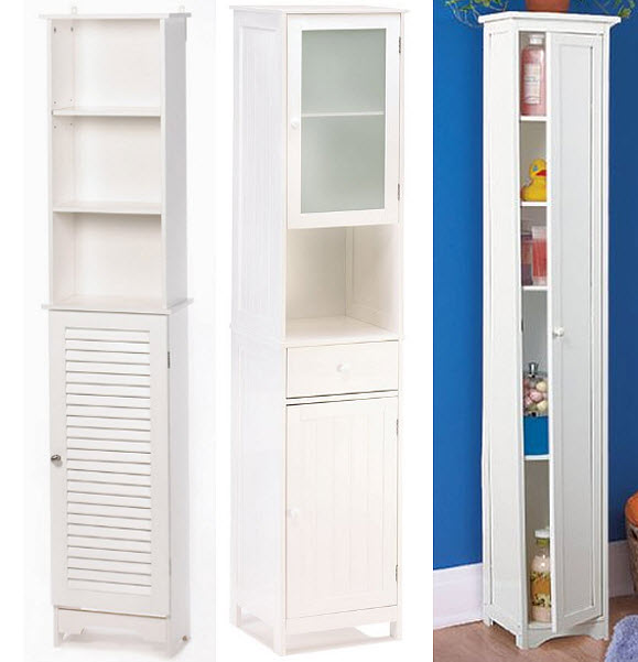 Tall Narrow Bathroom Storage Cabinets