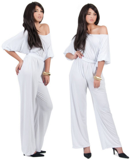white-strapless-jumpsuit-for-women